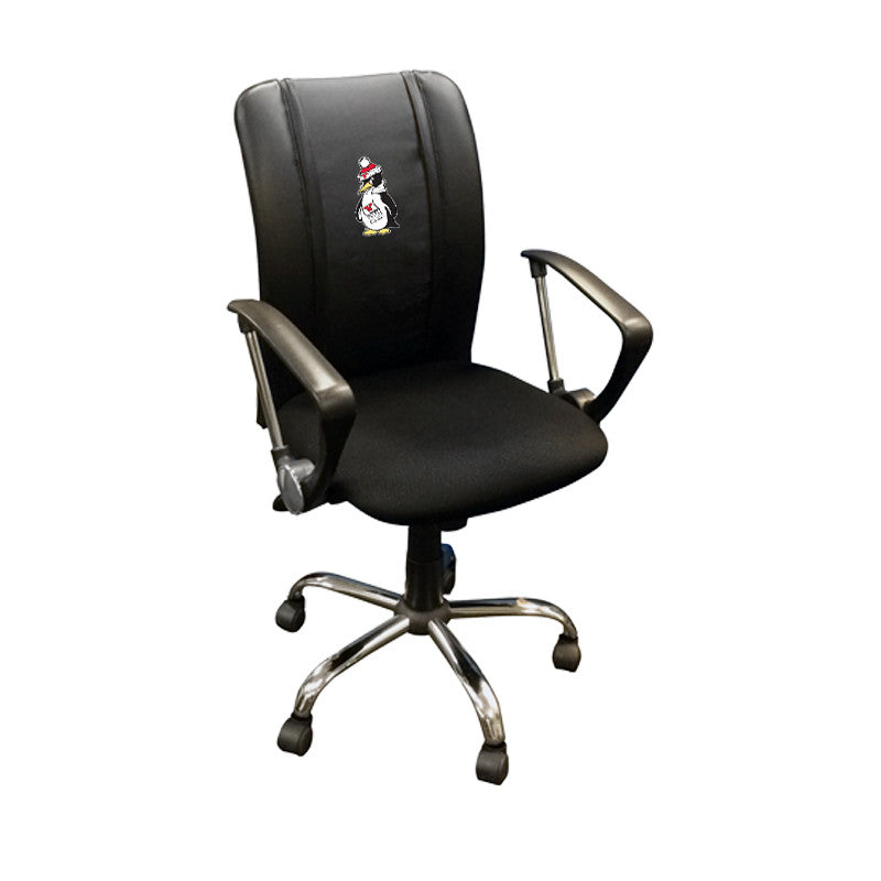 Curve Task Chair with Youngstown State Penguins Logo