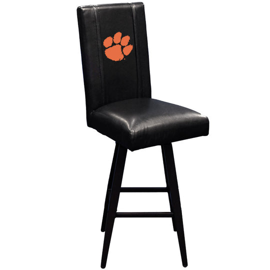 Swivel Bar Stool 2000 with Clemson Tigers Logo