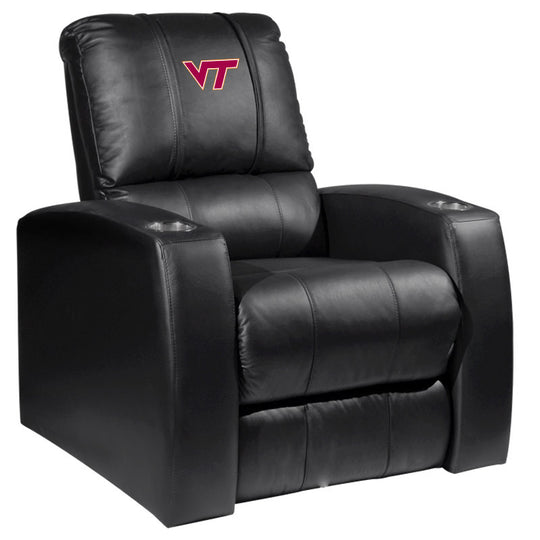 Relax Recliner with Virginia Tech Hokies Logo