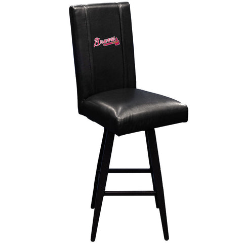 Swivel Bar Stool 2000 with Atlanta Braves Logo