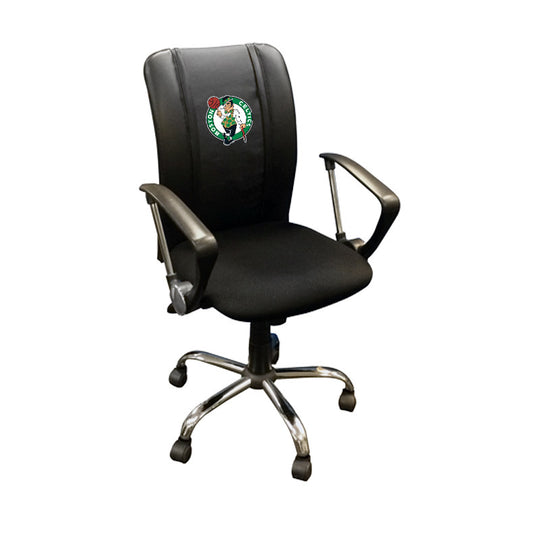 Curve Task Chair with Boston Celtics Logo