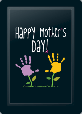 Mother's Day Handprints