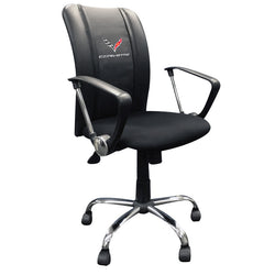 Curve Task Chair with Corvette C7 logo