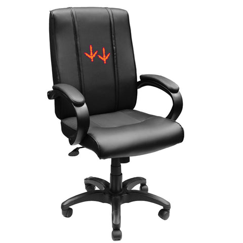 Office Chair 1000 with Virginia Tech Hokies Feet Logo