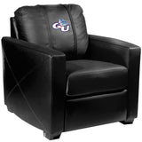 Silver Club Chair with Gonzaga Bulldogs Logo