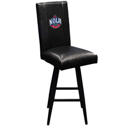 Swivel Bar Stool 2000 with New Orleans Pelicans NOLA