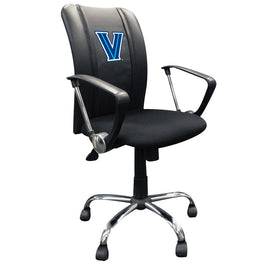 Curve Task Chair with Villanova Wildcats Logo
