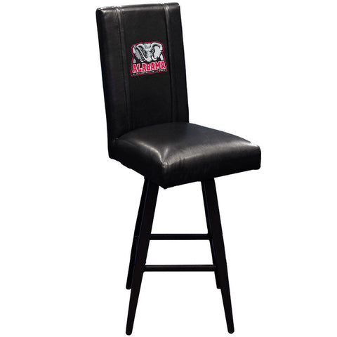Swivel Bar Stool 2000 with Alabama Crimson Tide Elephant Logo