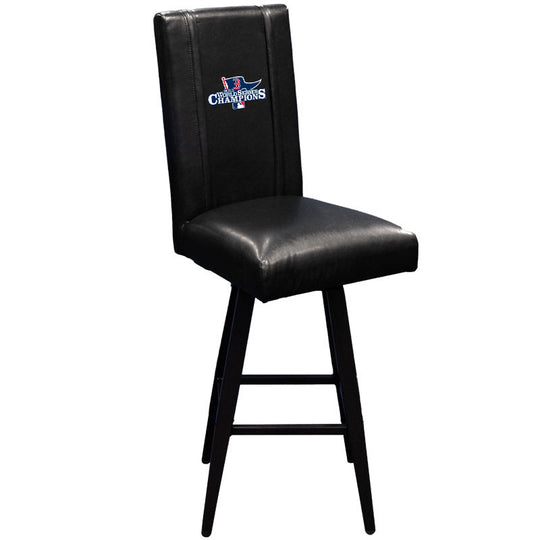 Swivel Bar Stool 2000 with Boston Red Sox Champs 2013