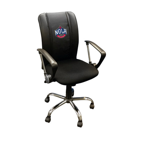 Curve Task Chair With New Orleans Pelicans NOLA
