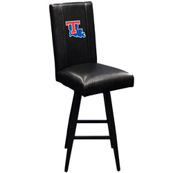 Swivel Bar Stool 2000 with Louisiana Tech Bulldogs Logo