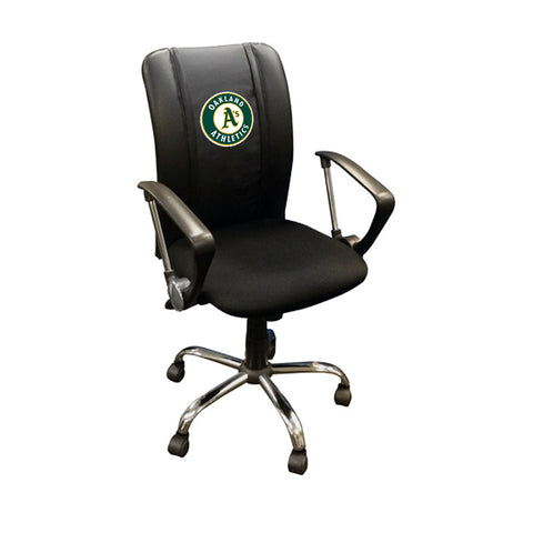 Curve Task Chair with Oakland Athletics Logo