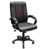 Office Chair 1000 with Alabama Crimson Tide Red A Logo