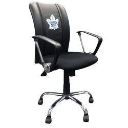 Curve Task Chair with Toronto Maple Leafs Logo