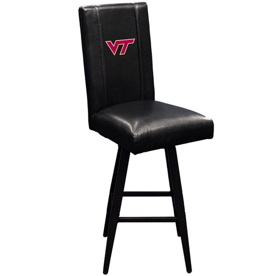 Swivel Bar Stool 2000 with Virginia Tech Hokies Logo