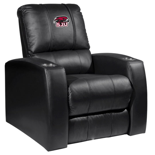 Relax Recliner with St Josephs Hawks Logo