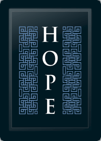 Hope Deco Vertical Blue