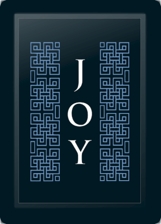 Joy Deco Vertical Blue