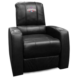 Relax Recliner with 2016 Chicago Cubs World Series Logo