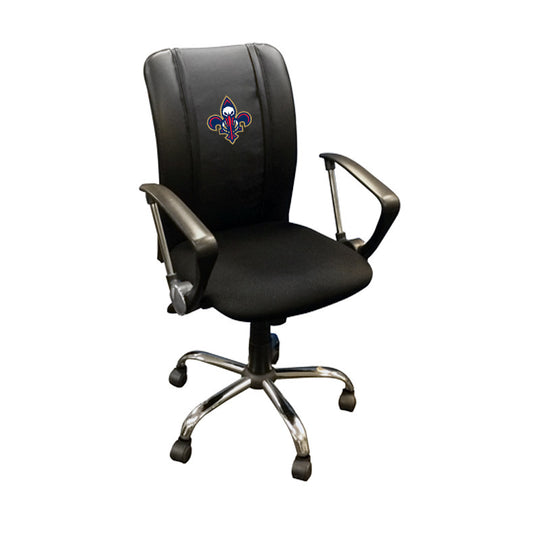 Curve Task Chair with New Orleans Pelicans Secondary