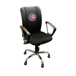 Curve Task Chair with Chicago Cubs Logo