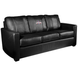 Silver Sofa with 2016 Chicago Cubs World Series Logo