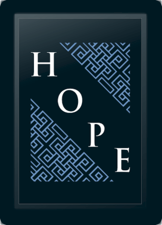 Hope Deco Diagonal Blue