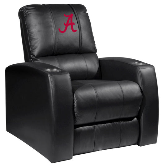 Relax Recliner with Alabama Crimson Tide Red A Logo