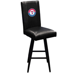 Swivel Bar Stool 2000 with Texas Rangers Logo