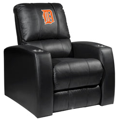 Relax Recliner with Detroit Tigers Orange Logo