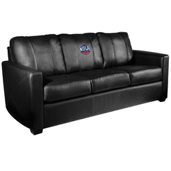 Silver Sofa with New Orleans Pelicans NOLA