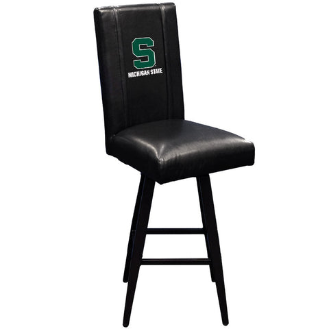 Swivel Bar Stool 2000 with Michigan State Secondary Logo