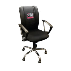 Curve Task Chair with Alabama Crimson Tide Elephant Logo