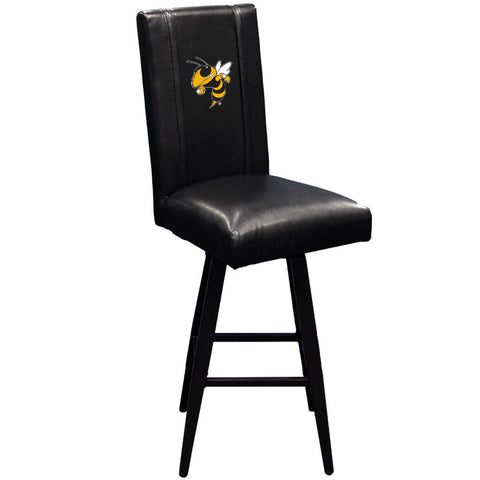 Swivel Bar Stool 2000 with Georgia Tech Yel Jackets Buzz Logo
