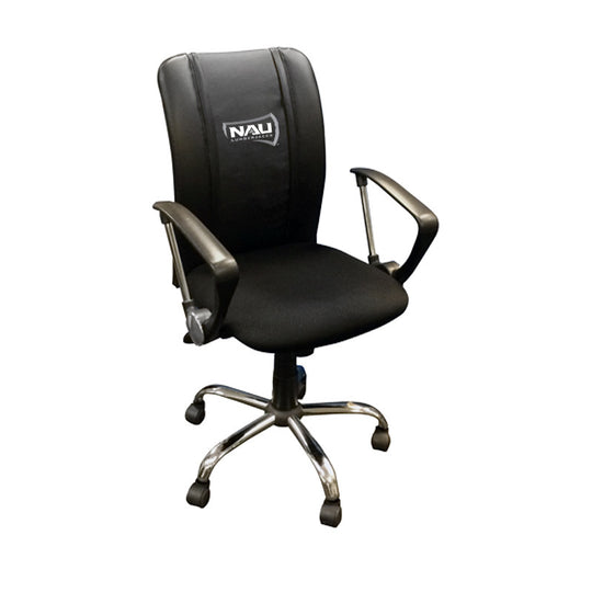 Curve Task Chair with Northern Arizona University Primary Logo