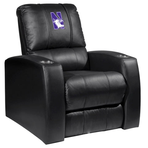 Relax Recliner with Northwestern Wildcats Logo