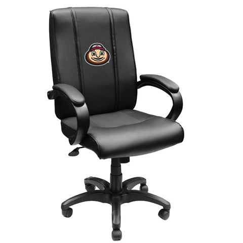 Office Chair 1000 with Ohio State Buckeyes BrutusHead Logo