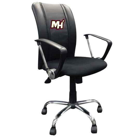 Curve Task Chair Miami Heat Secondary Logo
