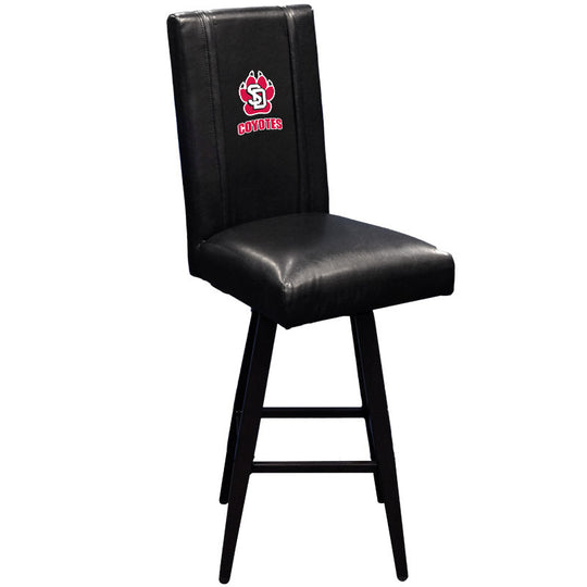 Swivel Bar Stool 2000 with South Dakota Coyote Paw Logo