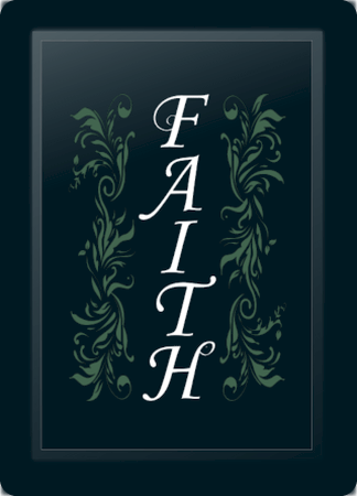 Faith Floral Vertical Sage