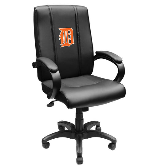Office Chair 1000 with Detroit Tigers Orange Logo