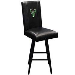 Swivel Bar Stool 2000 with Milwaukee Bucks Logo