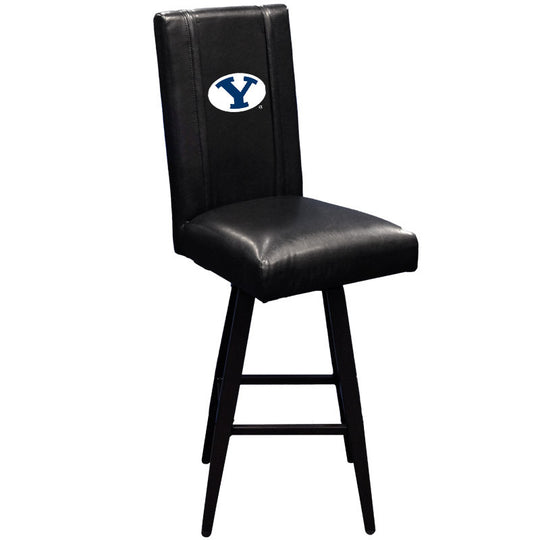 Swivel Bar Stool 2000 with BYU Cougars Logo
