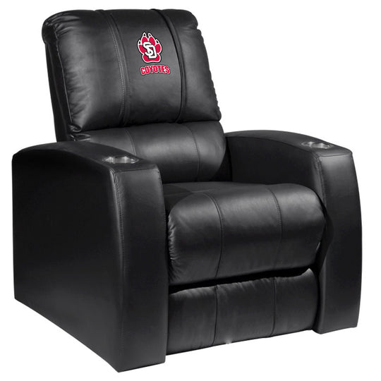 Relax Recliner with South Dakota Coyote Paw Logo