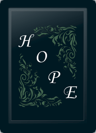 Hope Floral Diagonal Sage
