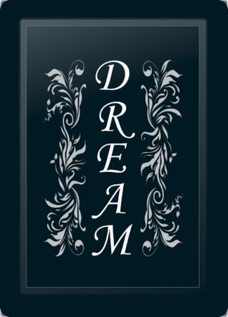 Dream Floral Vertical Silver
