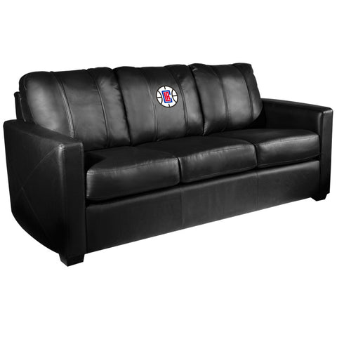 Silver Sofa with Los Angeles Clippers Primary