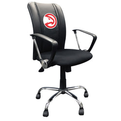 Curve Task Chair with Atlanta Hawks Logo