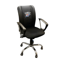 Curve Task Chair with Oklahoma City Thunder Logo