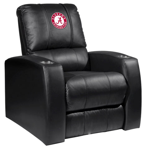 Amazing Relax Recliner With Alabama Crimson Tide Logo